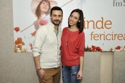 Pasha Parfeni şi Aliona Moon în studioul Aquarelle FM!