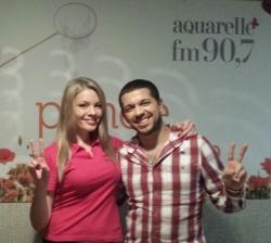 """Boris Covali a prezentat noua sa piesa """"Десять дней"""" in studioul Aquarelle FM!"""