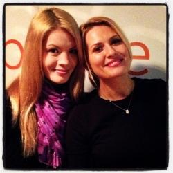 """Diana Rotaru a venit in studioul Aquarelle fm si a prezentat noua piesa """"Every night"""" in direct!"""