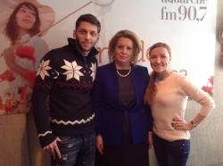 Luminita Suveica, Ministrul Sanatatii in RM, a fost prezenta in studioul Aquarelle FM!