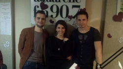 Catalin Josan, Tania Cerga si Alex Calancea invitati in studioul Aquarelle FM!