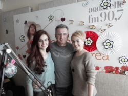 Glam Girls si Serghei Orlov au venit in studioul Aquarelle Fm pentru un interviu inainte de Eurovision!