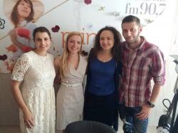 Valeria Darie si Carolina Tihohod, reprezentante Mille Fiori, au fost la Bigudi Show!