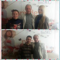 Andrei Sochirca ne-a vorbit despre teatru si viata personala in studioul Aquarelle FM!