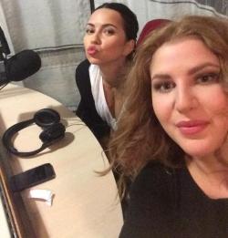 INNA si Dara au fost pe Aquarelle FM in direct de Ziua Studentilor in Moldova!