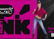 LIDIA ISAC_P!NK PARTY Aquarelle 90,7 FM - 05/12/2014