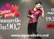 Latino Party Aquarelle 90,7 FM. Best of Ricky Martin (Promo) - 09/03/2015