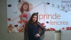 """Felicia Dunaf a adus primavara pe Aquarelle FM cu cea mai noua piesa """"Tu esti tot ce imi doresc""""!"""