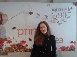 Carolina Gorun a vorbit pe Aquarelle FM cit este de incantata de prestatia sa la un concurs in Germania!