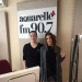 Diana Brescan a fost in studioul Aquarelle FM si a prezentat piesa pentru Eurovision 2016 - Till the end