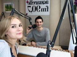 "Olia Tira a fost pe Aquarelle FM si ne-a povestit detalii despre noul ei videoclip la piesa ""Я знаю точно""!"