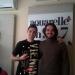 "Interpretul Serj Kuzenkoff a prezentat in premiera pe Aquarelle FM ""Piesa noastra"""