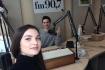 "Valeria Pasa a prezentat in emisie directa pe Aquarelle FM noua sa piesa ""Wake me up"""