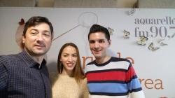 """Valentina Nejel si Sergiu Punga au prezentat o piesa noua """"Ne-a fost iubirea un joc"""" pe Aquarelle FM!"""