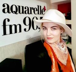 "Mariana Mihaila a prezentat noul single ""Stiam ca vei veni"", in duet cu Natan pe Aquarelle FM!"