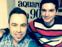 "EL Radu a prezentat in premiera pe Aquarelle 90,7FM primul sau single in limba rusa  ""Зов любви""!"