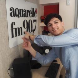 """Mark Stam a prezentat piesa """"A murit iubirea"""" in direct pe Aquarelle FM si ne-a oferit un interviu!"""