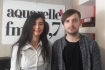"Trupa MEVV si interpreta Stela Botan au prezentat impreuna piesa ""Plutim"" pe Aquarelle FM!"