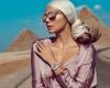 (foto) Xenia Deli a pozat lîngă un pui de leu, pentru un brand de bijuter
