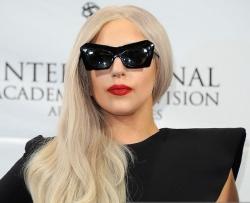 Леди Гага посетила благотворительную акцию вместе с мамой