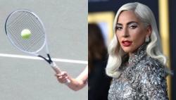 Lady Gaga cucerește tenisul mare! Cum arată interpreta pe teren (FOTO)