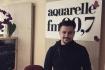 """ALEX MAN a prezentat in premiera pe Aquarelle Fm piesele """"Totul va fi bine"""" si """"Ele""""."""